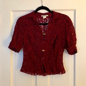 Lace blouse from Paris
